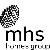 the mhs homes logo is an acorn seed